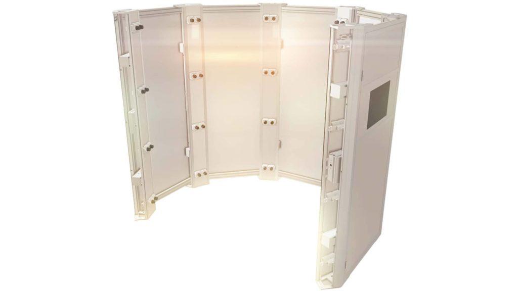 Das ist der Photogrammetrie-3D-Körperscanner der Firma Botspot.