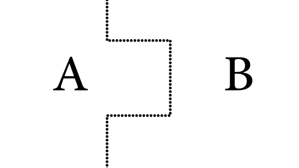 Im Bild ist die Fehlerfortpflanzung zwischen Teil a und Teil b zu sehen.