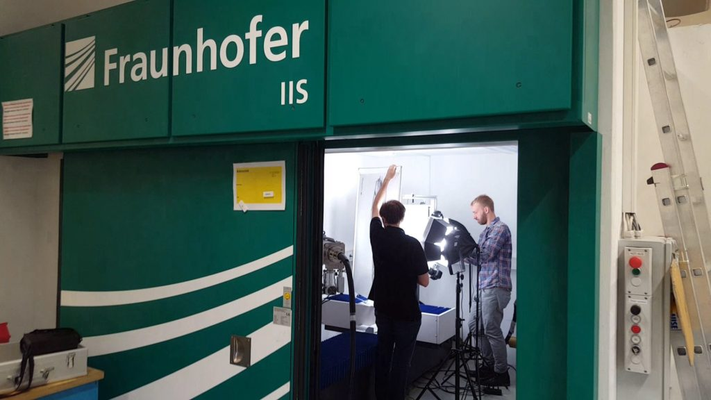 Walk in 3D CT scanner from Fraunhofer IIS