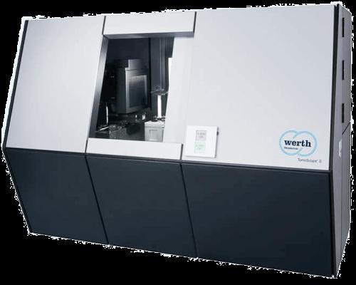 Das ist der 3D-CT-Scanner Tomoscope der Firma Werth.