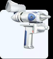 Leica laser tracker head